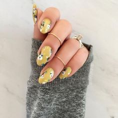 Nail art is a very popular trend these days and every woman you meet seems to have beautiful nails. It used to be that women would just go get a manicure or pedicure to get their nails trimmed and shaped with just a few coats of plain nail polish. Long Nail Designs, Flower Nail Designs, Cute Nail Designs, Pedicure Designs, Spring Nails, Summer Nails, Cute Nails, Pretty Nails, Hair And Nails