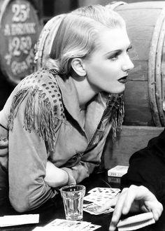 Jean Arthur, The Plainsman (1936).