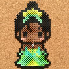 Tiana (The Princess and the Frog) perler beads by tsubasa.yamashita