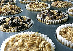 Healthy Oatmeal Cups | nourished existence