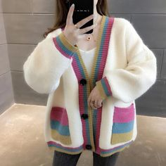 Swaggy Outfits, White Cardigan, Sport Fashion, Knitwear, Sweaters For Women, Anita, Sport Style, Street Style, Knitting