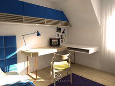 #lukaspoctavekdesign Corner Desk, Loft, Interior Design, Bed, Furniture, Home Decor, Design Interiors, Homemade Home Decor, Home Interior Design