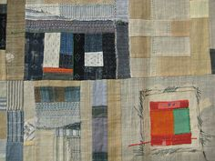 Nostalgia (Detail 1) by Kayoko Watanabe - from 2010 Tokyo International Great Quilt Festival  Original Design Quilt Category, 3rd prize Photo by Be*mused on flickr