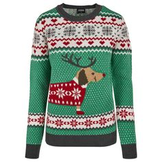Urban Classics Sweater Sausage Dog Christmas Green Toddler Size Chart, Size Chart For Kids, Streetwear, Clothing Size Chart, Urban Classics, Cool Sweaters, Family Christmas, Long Sleeve Sweater, Lady