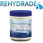 Rehydrade is a supplement that provides energy, electrolytes, and other substances to help enable show animals to maintain fluid and electrolyte balance while enhancing freshness. It can be used as a drench or as a top-dress.