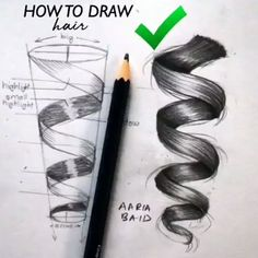 Great Photo pencil drawing hair Style These pencil drawing techniques from top artists will allow you to take your drawing skills to the n Pencil Art Drawings, Realistic Drawings, Art Drawings Sketches, Easy Drawings, Horse Drawings, Sketch Art, Drawing Tips, Drawing Reference, Drawing Hair Tutorial