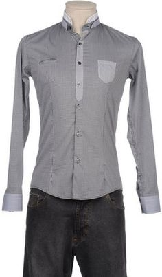 ShopStyle: DAVID MAYER NAMAN Long sleeve shirt
