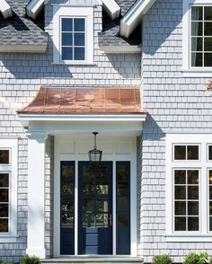 DIY Home Decor House Entrance Exterior Entryway Porticos Ideas Acne - Getting Rid Of Acne Scars Portico Entry, Front Entry, Front Porch, Porch Kits, Building A Porch, House Building, Building Ideas, Copper Roof, Exterior Makeover