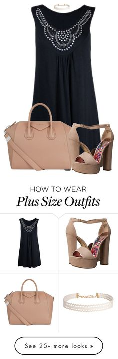 """""""~Nudes and Blues~"""" by karen112200 on Polyvore featuring Givenchy, Madden Girl, Humble Chic, Summer, Blue, nude and vacation"""
