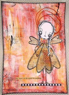 a sprinkle of imagination: Ruby Tangerine