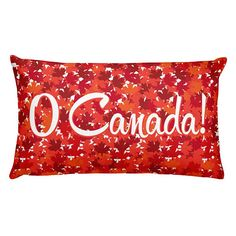 """This pillow is comfortable to hold, and its the perfect accent piece for any space. • 20""""x12"""" • Made of 100% pre-shrunk polyester • Moisture-repellent Teflon coating • Precision-cut and hand-sewn after printing"""
