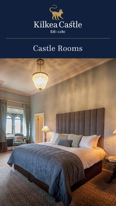 Our decadent Castle Rooms offer breathtaking views of the Castle grounds and estate, making any guest feel like a King or Queen. Castle Hotels In Ireland, Castles In Ireland, Castle Rooms, Castle Bedroom, Lodge Bedroom, Lodges, Bedrooms, Sleep, King