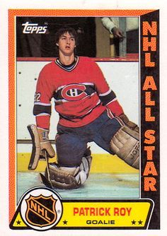 1989 Topps Patrick Roy Hockey Card for sale online Hockey Goalie, Hockey Games, Hockey Players, Ice Hockey, Nhl, Montreal Canadiens, Patrick Roy, Saint Patrick, Quebec