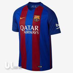 Nike F. Barcelona Stadium Home Men's Soccer Jersey Size Large (Blue) Fc Barcelona Players, Fcb Barcelona, Barcelona Jerseys, Barcelona Football, Nike Soccer Jerseys, Messi Soccer, Soccer Fans, Soccer Shirts, Bermudas