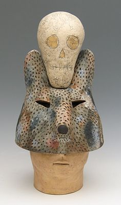 sara swink / I don´t like skulls, but this one is very creative, though...