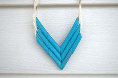 Native American Necklaces -can make from STRAWS and yarn or twine!!