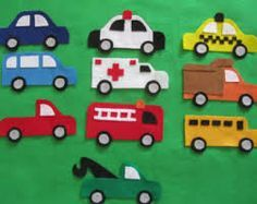 Felt vehicles