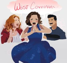 """""""started just with josh but keeps doodling as I rewatch I love this show so much weeps"""" My Crazy Ex Girlfriend, Crazy Ex Girlfriends, Crazy Ex Gf, Rebecca Bunch, Drama Tv Series, Sandra Oh, West Covina, Jodie Comer, You Are Cute"""