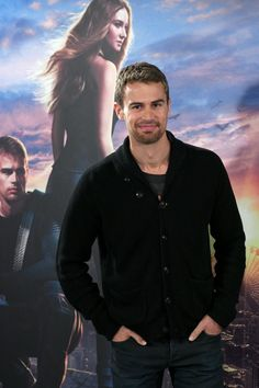 Pin for Later: 14 Theo James Stares So Sexy, You Might Have to Look Away