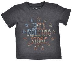 Bob Dylan Rolling Stone USA Flag Toddlers Kids T-Shirt