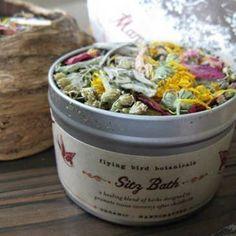 Sacred Pregnancy - postpartum herbal sitz bath $6.75