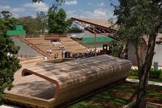 victor civita plaza, sustainable architecture, green building, public space, sustainable design, solar panels, são paulo brazil, davis brody bond architects