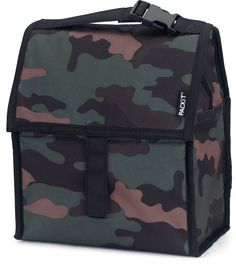 PackIt Freezable Lunch Bag with Zip Closure Classic Camo -- You can find out more details at the link of the image. (Note:Amazon affiliate link) #healthydietsnacks
