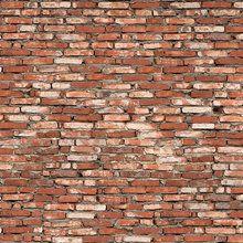 Wall Mural - Old Brickwall Red