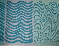 Marimekko Fabric Silkkikuikka Blue Two Yards x 56 Free Shipping Sale Price   eBay
