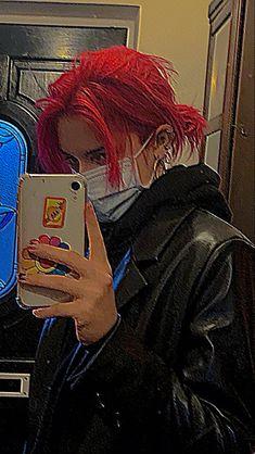Dye My Hair, New Hair, Hair Dye Colors, Hair Color, Pelo Guay, Red Hair Inspo, Androgynous Hair, Fluffy Hair, Hair Reference