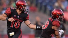 Donnel Pumphrey explodes vs. Cal breaks Marshall Faulk's rushing record