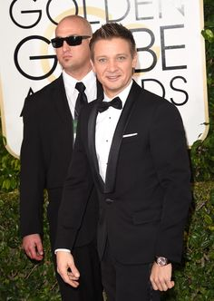 Jeremy Renner - Arrivals at the Golden Globe Awards 2015
