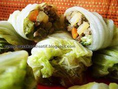 Resep Sawi Putih Gulung - Resep Masakan Indonesia