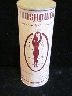 Vintage Powder Tin Art Deco Powder Tin Talcum by PowerOfOneDesigns, $29.99