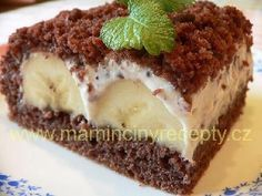 Krtkův dort na plechu Red Velvet Cheesecake, Sweet Recipes, Tiramisu, Food And Drink, Ethnic Recipes, 3, Recipes, Sweet, Tiramisu Cake