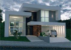 Photo of a house exterior design Mais