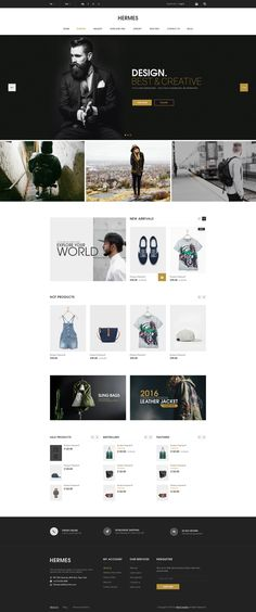 Hermes - eCommerce PSD Template - PSD Templates | ThemeForest