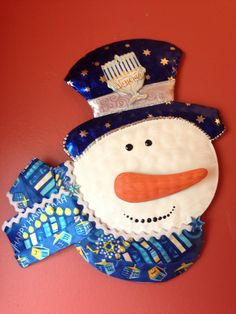 A personal favorite from my Etsy shop https://www.etsy.com/listing/243730831/judaica-chanukah-decoration-jewish