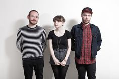 CHVRCHES en Late show with David Letterman