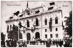 Palatul Administrativ Galați - fotografii din 1906 și 1914 • Știrile Galațiului Notre Dame, Architecture, Building, Travel, Arquitetura, Viajes, Buildings, Destinations, Traveling