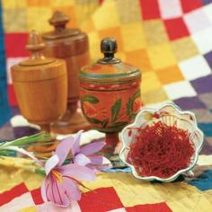 make your own saffron (beats paying the very high price per ounce)