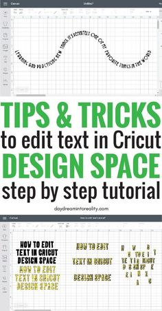 How to Edit Text in Cricut Design Space Like a Pro Get ready because at the end of this article you will master how to edit text in Cricut Design Space like PRO! I want to teach you how to fish and empower you with the knowledge to come up with cool ideas Cricut Air 2, Cricut Help, Cricut Vinyl, Cricut Stencils, Teacher Appreciation, Cricut Tutorials, Cricut Ideas, Cricut Explore Projects, Space Text
