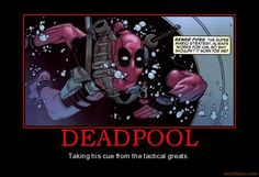 deadpool funny | mean really, what other super hero can go and make super Mario ...