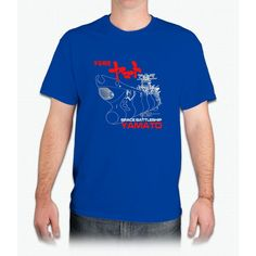 NEW STAR BLAZERS SPACE BATTLESHIP YAMATO JAPAN RETRO ANIME MANGA - Mens T-Shirt