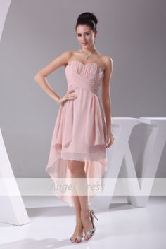 Pink Short Prom Dress 2014 /Short  Elegant by angeldress2014, $84.00