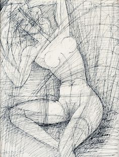 'Nude' (1955) by Marcel Gromaire