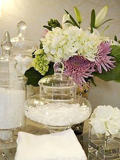 Brabourne Farm: Love .... Flowers in the Bathroom