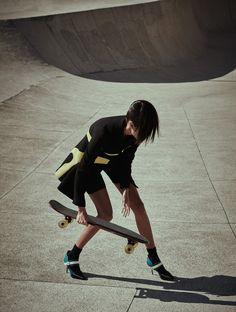 Daniela Braga by Nicole Heiniger for L'Officiel Brazil September 2015 9