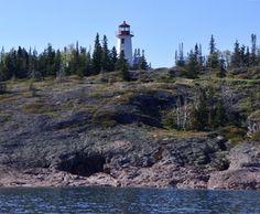 Davieaux Island Lighthouse, Ontario Canada at Lighthousefriends.com