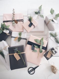 Christmas wrapping #giftwrapping #geschenkpapier #wrapping
